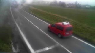 Kožušany - Dynamický zpomalovací semafor